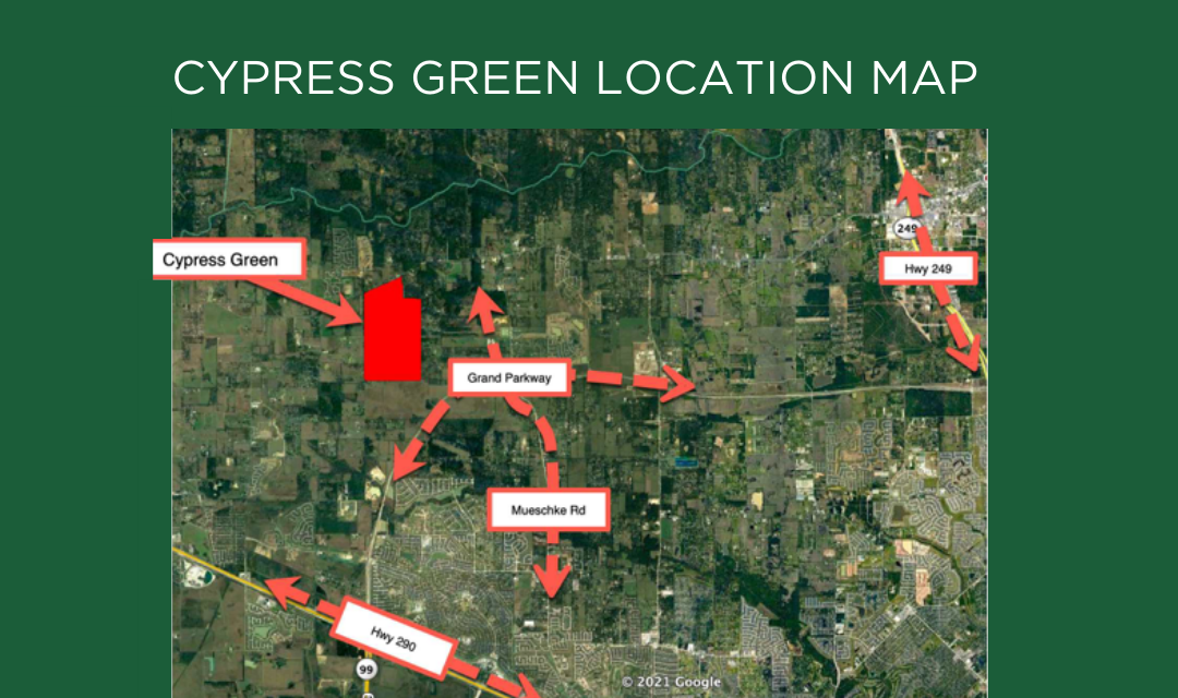 Cypress Green Master-Planned Community in the News